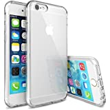 Elv Premium Quality Clear Hybrid Protective Case Cover with Frost Bumper for Apple iPhone 6s Plus/ iPhone 6 Plus (5.5 INCH) - CLEAR