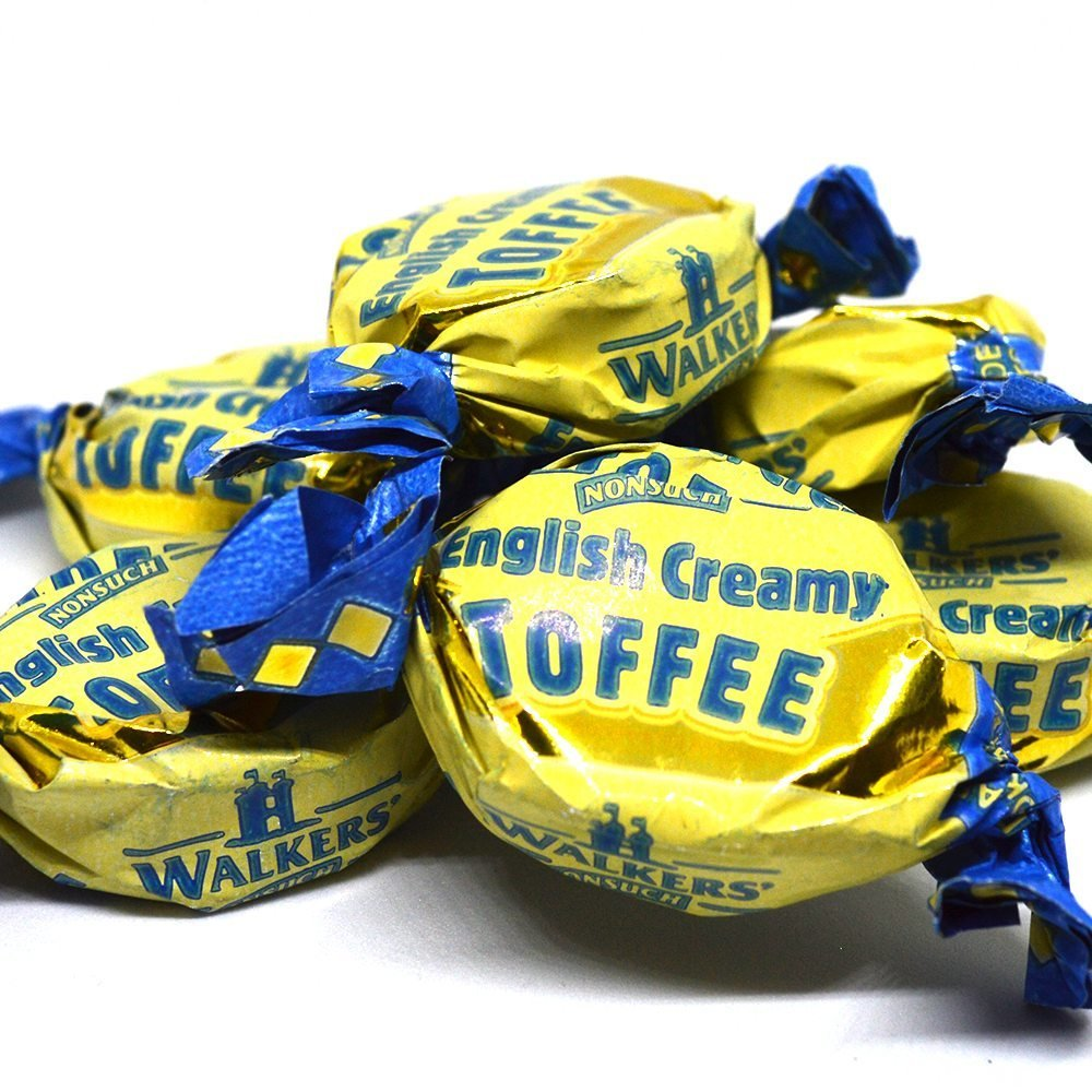 Walkers English Creamy Toffees, 500 g