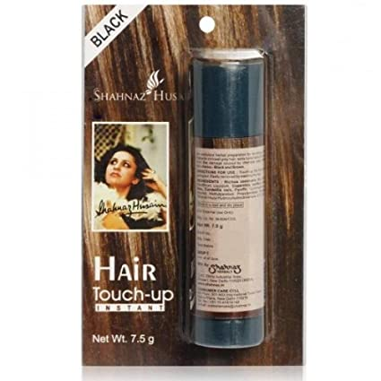 7421389a8c266 Buy Shahnaz Husain Hair Touch-Up, Black, 7.5g (Pack of 2) Online at Low  Prices in India - Amazon.in