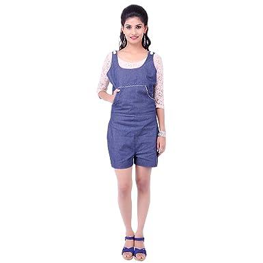 Fbbic Womens Casual Wear Denim Denim Jumpsuit Amazonin Clothing