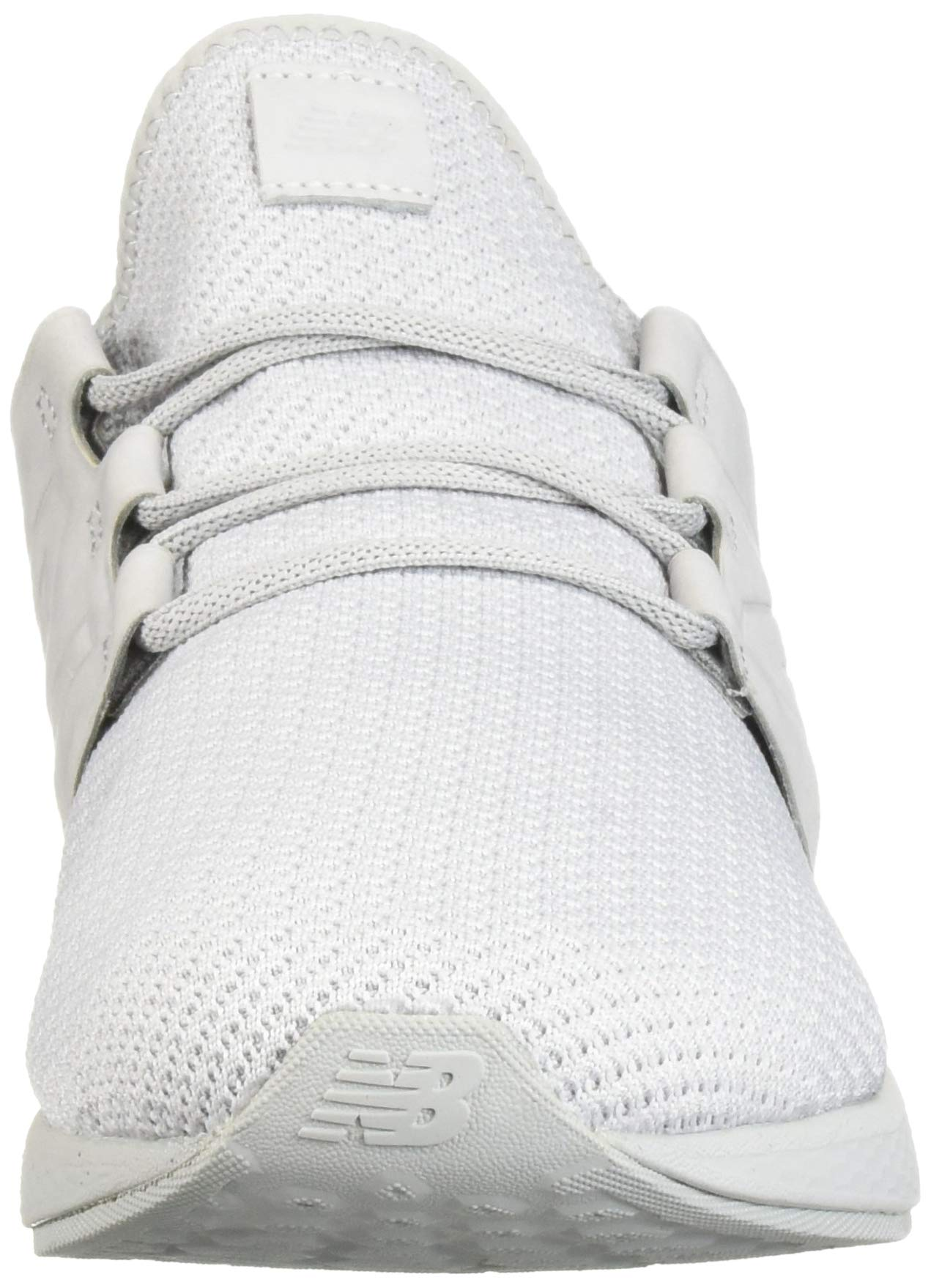 New Balance Men's Cruz V2 Fresh Foam Running Shoe, arctic fox/white/nubuck, 7 D US by New Balance (Image #4)