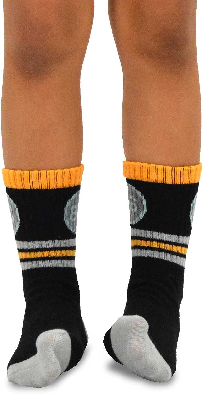 Kids Boys Fashion Fun Cotton Crew Socks 6 Pair Pack TeeHee Naartjie