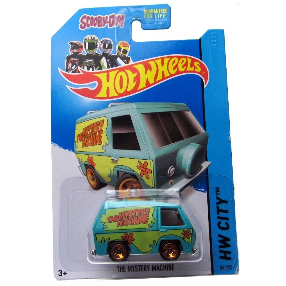Hot Wheels 2014 Tooned I Hw City Scooby-Doo The Mystery Machine 84/250 Mattel