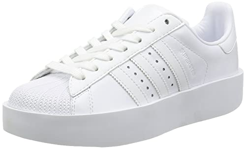 buy popular 487f9 d5f06 adidas Superstar Bold W Scarpe da Ginnastica Donna, Bianco (Ftwbla Negbas)  42 43 EU  Amazon.it  Scarpe e borse