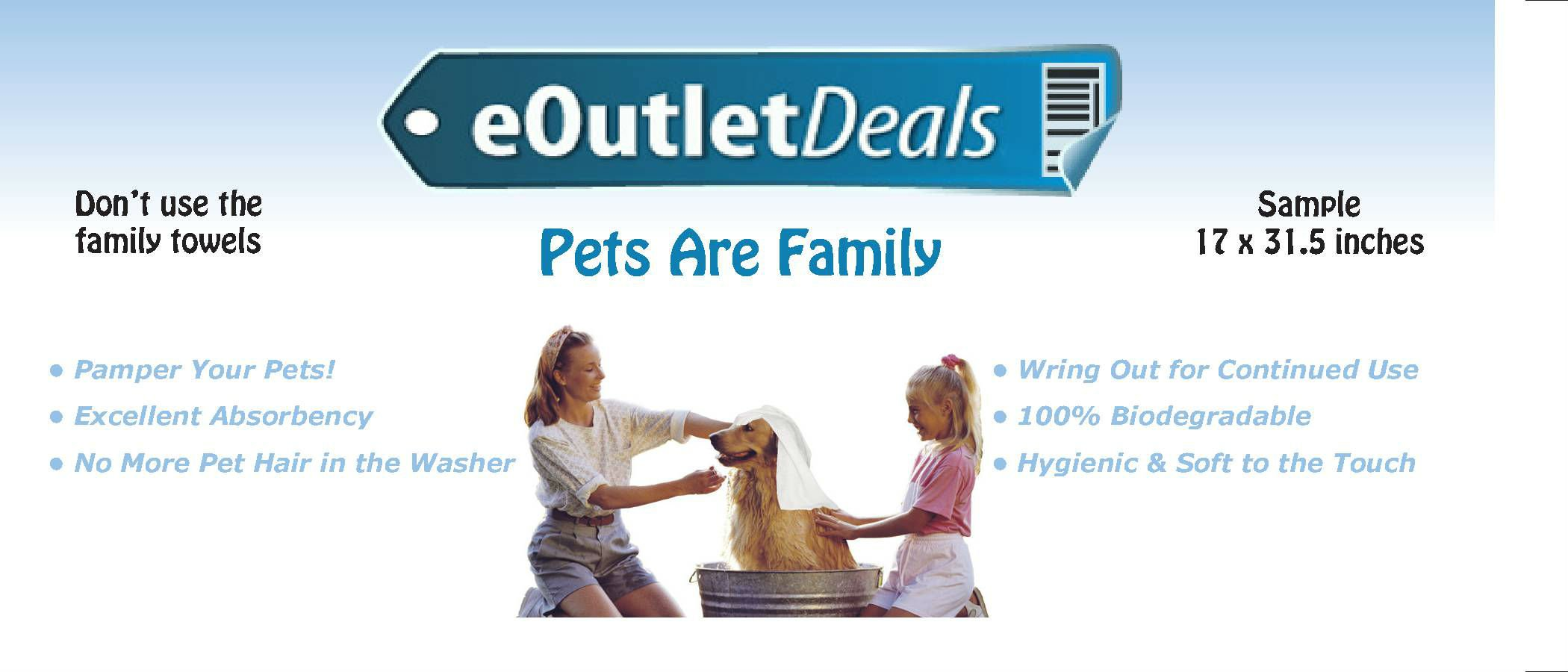 PetTest Advocate Monitoring Glucose Levels - Diabetes Testing Tools - Calibrated for Pets - Bonus eOutletDeals Pet Towel (50 Test Strips)