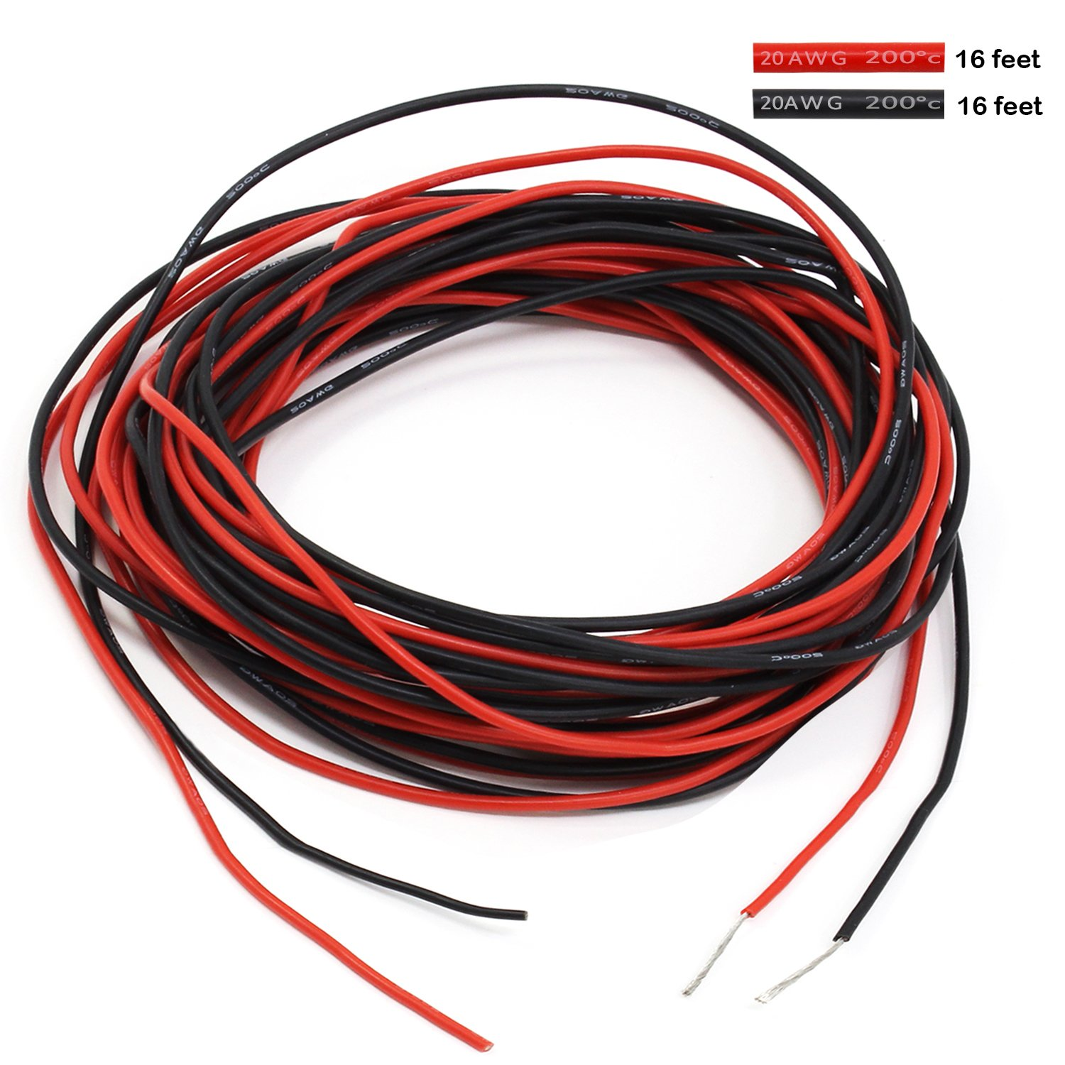 PsmGoods 10 Füße 10 Gauge AWG Flexible: Amazon.de: Elektronik