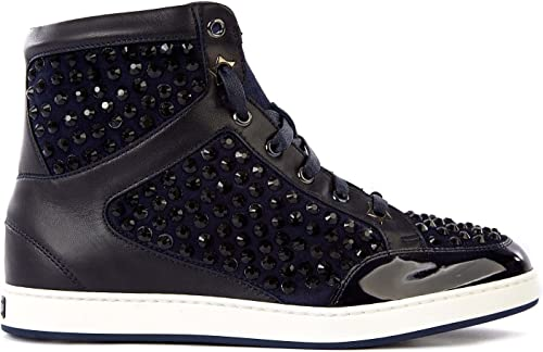 Leather Trainers Sneakers Black