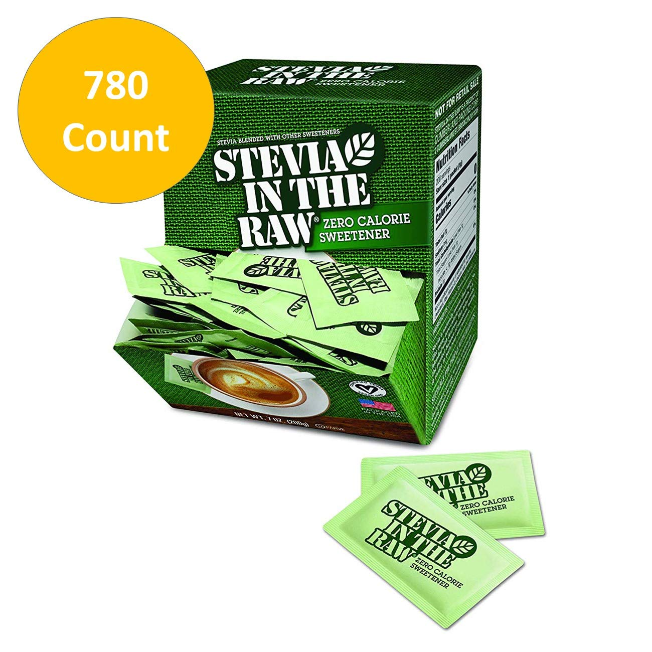 Stevia In The Raw, 780 Count (780 Count total) by In The Raw