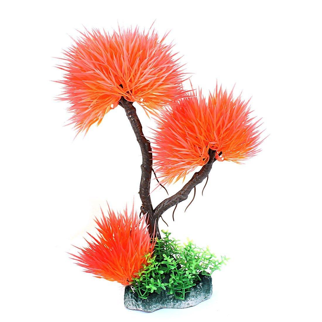 De plástico Acuario Pecera de bola forma diseño hierba Planta Multicolor: Amazon.es: Productos para mascotas