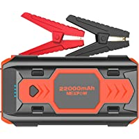 $79 » Battery Starter for Car, NEXPOW 2500A 22000mAh Portable Car Jump Starter Q9B (up…