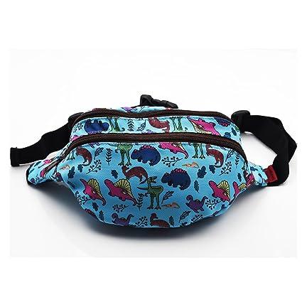 a565a3e5df8b Dinosaur Bag Gift Fanny Pack Hip Bag Waist Bag Canvas Bum Belt Hip Pouch  Bags (