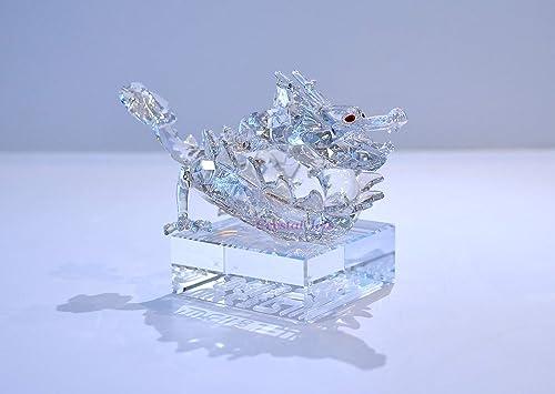Swarovski Crystal Figurine 1075151, Zodiac Dragon