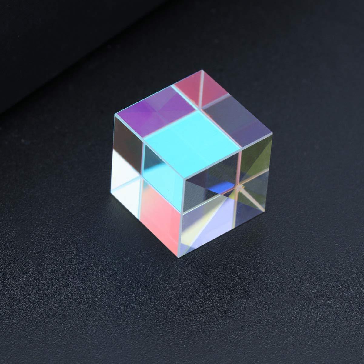 2 Sides United Scientific CUBAO2 Acrylic Cube Prism