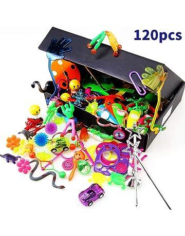 Amy&Benton Surtido de 120 juguetes para llenar piñatas y juguetes para llenar bolsas de fiesta para