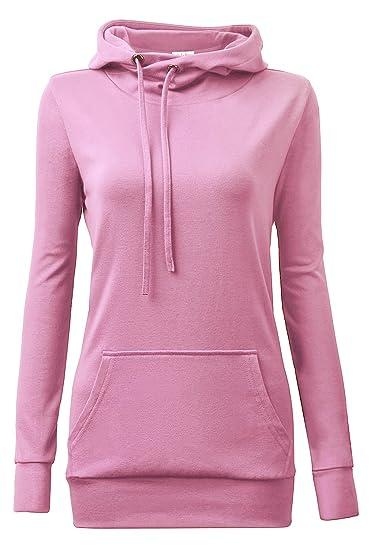 3fa12a1e9e5 YaYa Bay Womens Long Sleeve Pullover Funnel Neck Vintage Corn Tunic Sweater  Hoodie