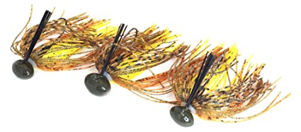Amazon com : Tip Bender Lures Weedless Football Jig Kit with