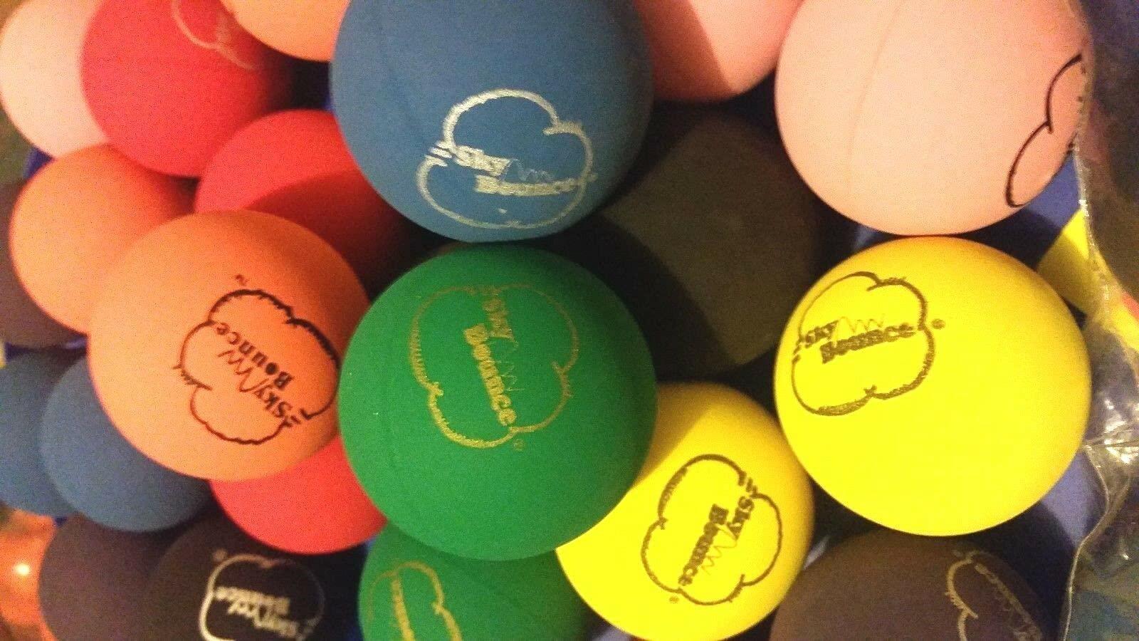 "Sky Bounce Ball 3pk - Assorted Colors 2"""