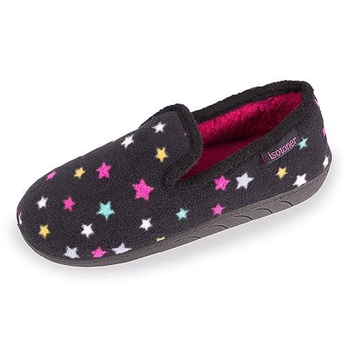Pantuflas cerradas para niña Isotoner 37: Amazon.es: Zapatos y complementos