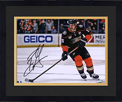 93a8ffe0b Image Unavailable. Image not available for. Color  Framed Ryan Getzlaf  Anaheim Ducks Autographed ...