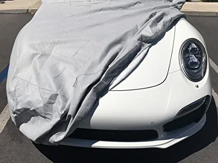 Car Cover Outdoor Car Cover Compatible with Porsche 911 GT2//GT3//GT2 RS//GT3 RS Breathable Vehicle Cover Auto Cover All Weather UV Protection Automobile Full Exterior Cover Car Shield Car Cloth