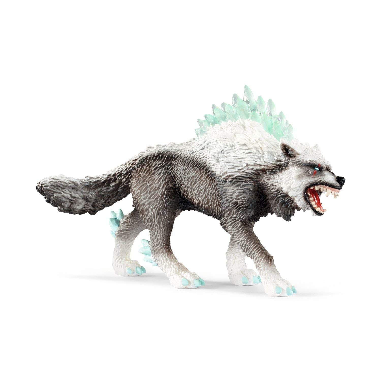 Schleich 42452Eldrador Snow Wolf, Voir Photo