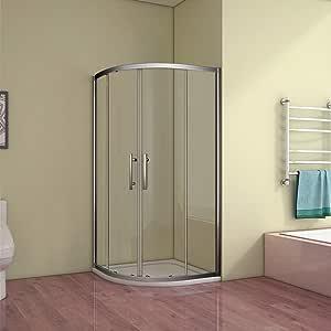 Mampara de ducha redonda ducha cuarto circular (Puerta Corredera ...