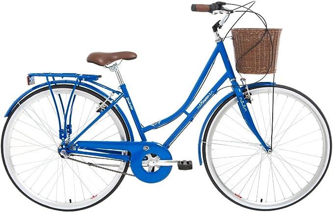 Kingston Elmbridge - Bicicleta de Paseo para Mujer, Cuadro 16 in ...