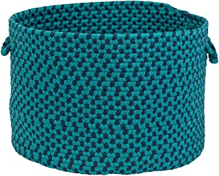 """product image for Colonial Mills Montego MG99A018X018 Utility Basket, 18"""" x 18"""" x 12"""", Oceanic"""