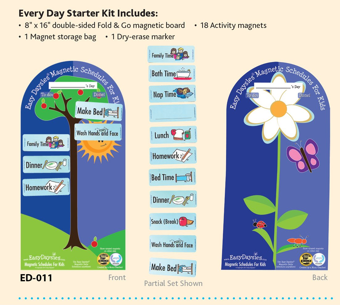 Easy Daysies Starter Kit The Original Daily Visual Schedule ESD011