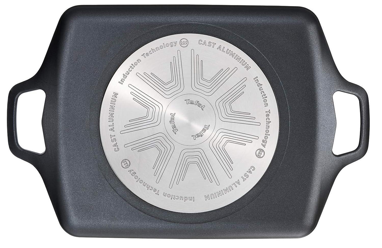 Tefal e21598/po/êle Parfum Multifonction rectangulaire 0/ Noir en Aluminium forg/é