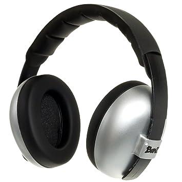 988115275a BABY BANZ BB644 Mini Earmuffs-Silver-0-2 Years