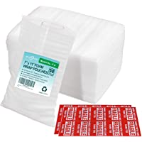 """Offitecture 7"""" x 11"""" Foam Pouches, 50-Pack"""
