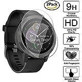 [2 Pack] Guran® Pellicola Protettiva ultra Resistente in Vetro Temperato per Garmin vívoactive 3 GPS-Fitness-Smartwatch Cristal Vidrio Templado Film