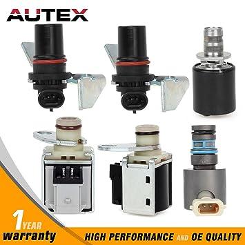 AUTEX 4L80E For 94-UP GM Transmission Solenoid Kit 6 Piece
