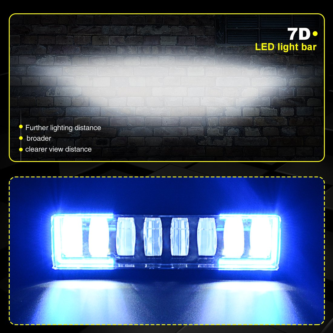 Amazon autosavre88 8 12 osram led blue light bar with wiring amazon autosavre88 8 12 osram led blue light bar with wiring harness 72w 7200lm off road jeep wrangler headlight driving fog light for wrangler jk asfbconference2016 Choice Image