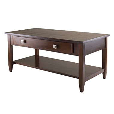 Winsome 94140 Richmond Occasional Table, Antique Walnut