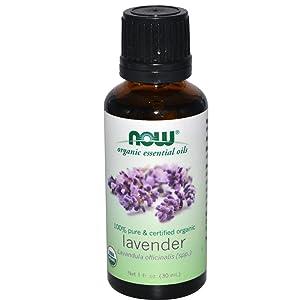 Now Foods, Essential Oil Lavender Organic, 1 Fl Oz