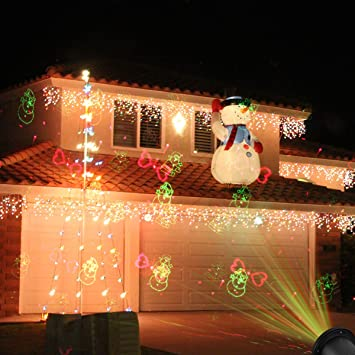 Amazoncom Laser Christmas Lights Outdoor Christmas Laser