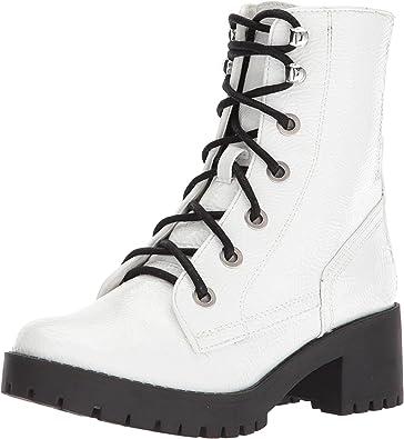 5b9bae017cf Amazon.com | Steve Madden Women's Georgie White Patent 10 M US | Shoes