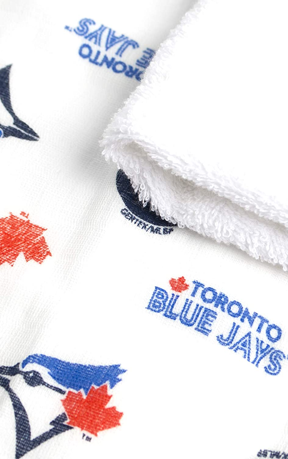 MLB Toronto Blue Jays 3 Pack Wash Cloth and Hooded Towel Set