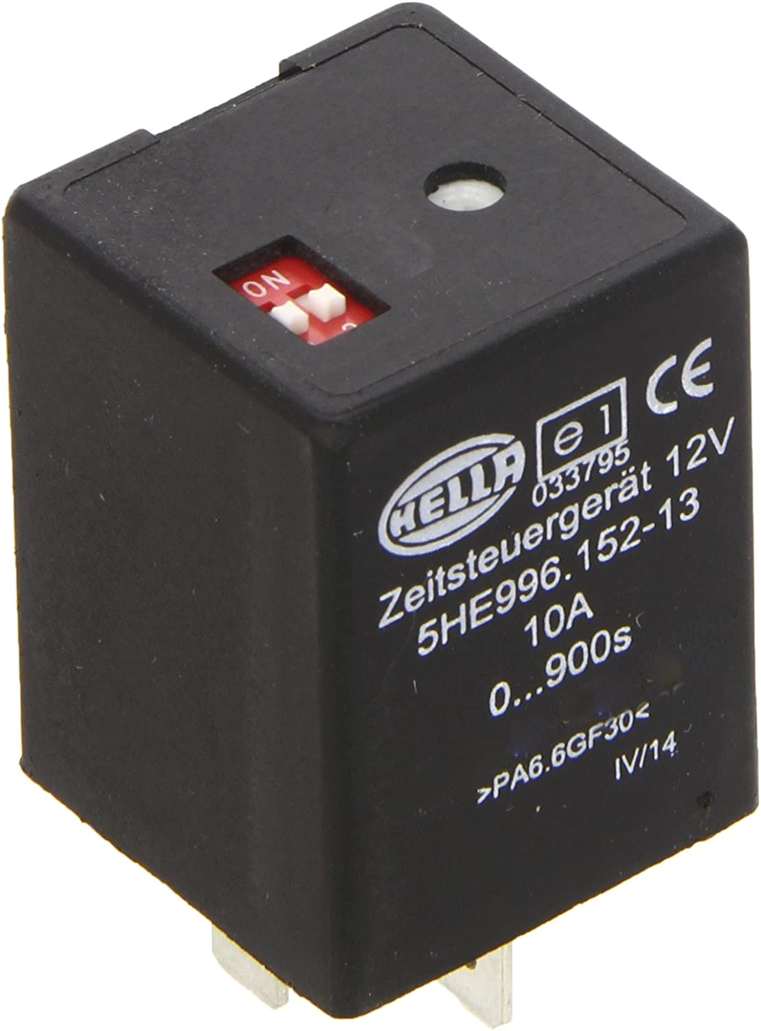 12 V Hella 5HE 996 152-131 Time Relay