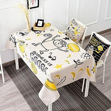 Küchenwäsche Leinen Tischdecke Couchtisch Decke Stoff Frucht