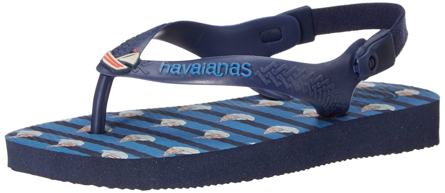 7c5fd0c69997 Havaianas Baby Boat Sandal Flip Flop with Backstrap (Toddler)