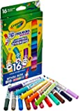 Crayola 16 Count Wash Pip Squeaks Skinnies- Fine Line