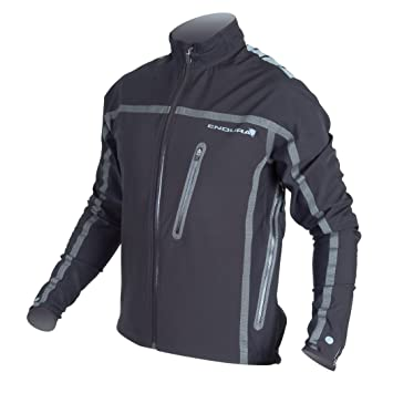 c3bbb39d4 Endura Stealth Waterproof Cycling Jacket XLarge Black  Amazon.co.uk  Sports    Outdoors