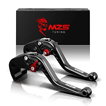 Adjustable CNC Long Brake Clutch Levers for Kawasaki ZX6R/636 2007-2017,ZX10R 2006-2015,Z750R 2011-2012,Z1000 2007-2016,Z1000SX/NINJA 1000/Tourer ...