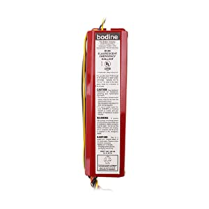 Bodine B100 - Emergency Backup Battery - 90 min. - Operates 17-40 W 2 ft. - 4 ft. T8, T10 or T12 or 4-pin long compact lamps - 120/277 Volt