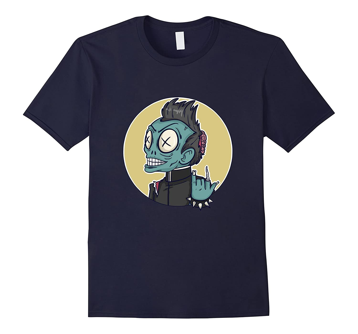 Back to School Shirts - Funny Halloween Zombie Tee-CL