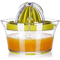 Yimobra Citrus Lemon Orange Juicer Manual Squeezer Lime Press with Strainer Built-in Measuring Cup and Grater Anti-Slip…