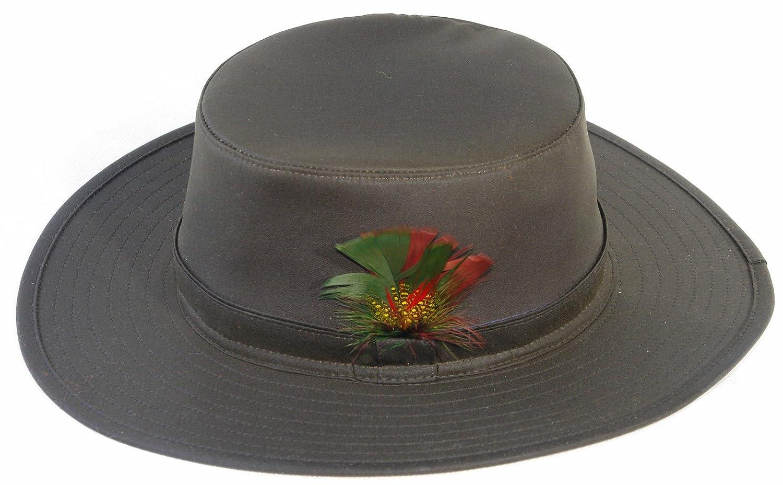 Countrywear Mens Aussie Sun Hat Explorer Australian Traditional Bush Fishing  Hunting Walking Shooting 100% Wax Cotton  Amazon.co.uk  Clothing 9d1d81cac6b0
